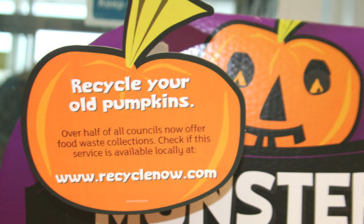 This Halloween Sainsbury's launches Pumpkin recycling to help get customers composting
