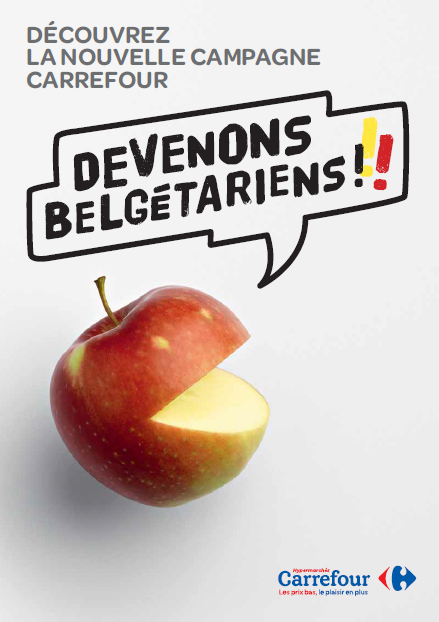 """Carrefour gives preference to Belgian products in its stores with the launch of """"Let's go Belgetarian"""" campaign"""