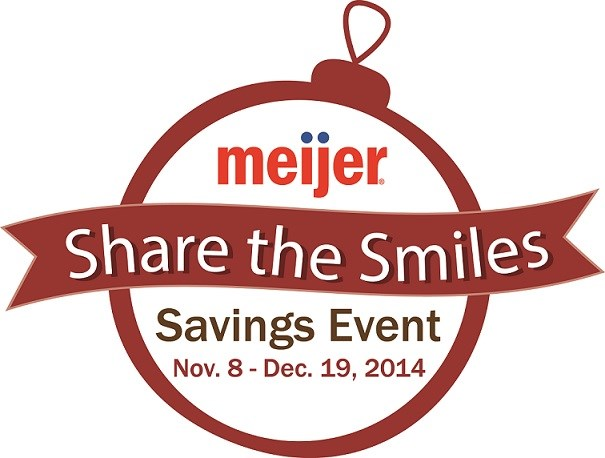 Meijer Share the Smiles campaign donates up to $400,000 to children's gift-giving programs throughout the Midwest