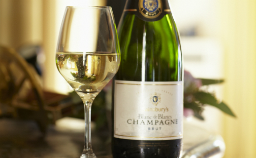 Sainsbury's Blanc de Blancs NV voted the best supermarket Champagne in the annual Which? Champagne and sparkling wine taste test