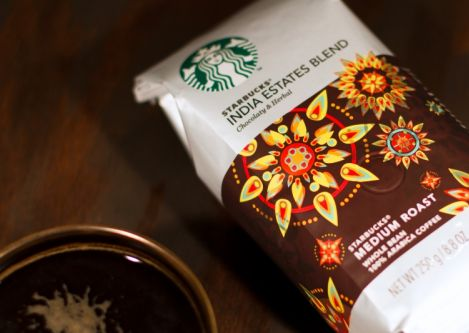 Starbucks launches Starbucks® India Estates Blend Coffee to celebrate its second anniversary in India