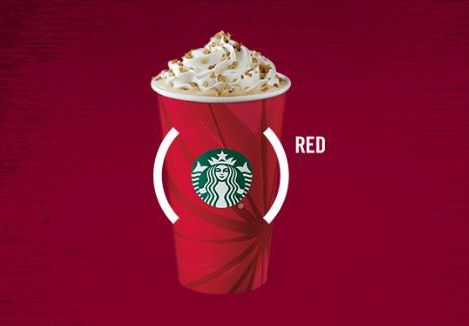 Starbucks partners with (RED)® to raise money and awareness for the fight against AIDS on World AIDS Day for the seventh year