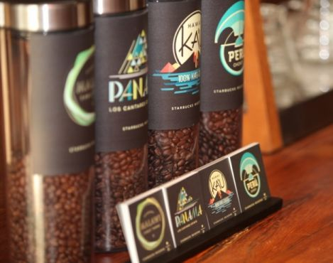 10 special coffees featured on the Starbucks Newsroom in 2014