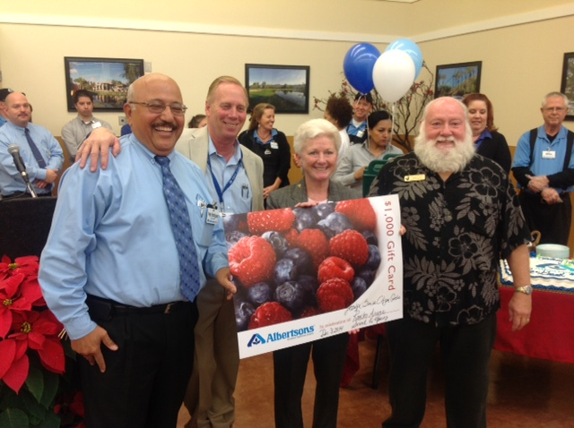 Palm Springs Albertsons/Sav-On Pharmacy honors Desert AIDS Project with $1,000 donation for its re-opening