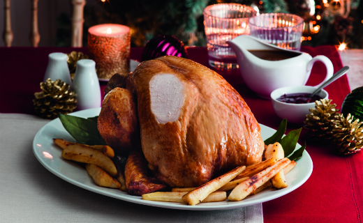 Sainsbury's donates nearly 10,000 turkeys along with other fruit and veg to offer a Christmas dinner to those in need