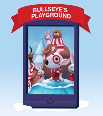 Target Corporation and Google launch mobile game experience Bullseye's Playground