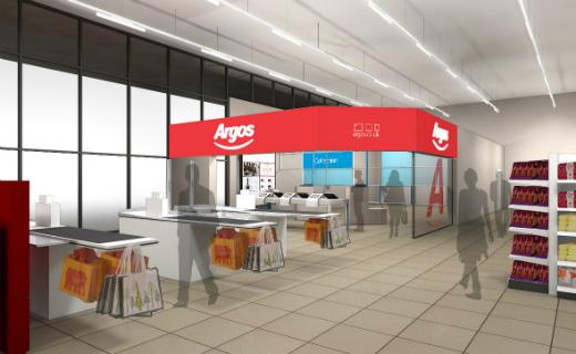 Argos and Sainsbury's team to open 10 new Argos digital stores within existing Sainsbury's supermarkets