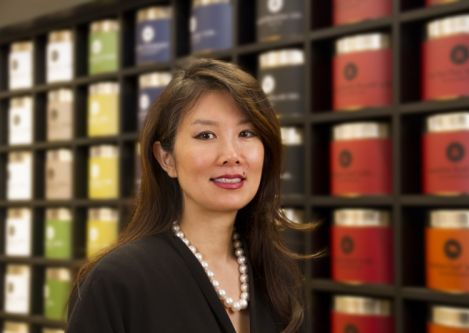 Marie Claire magazine features Teavana president Annie Young-Scrivner