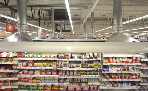 Sainsbury's pioneered new technology to power its fridges in its Portishead store with a new natural product produced entirely from waste