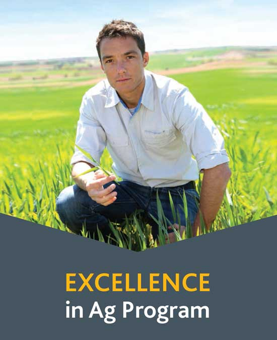 University of Saskatchewan student Danean Edgar selected for Co-op's Excellence in Ag program in 2014