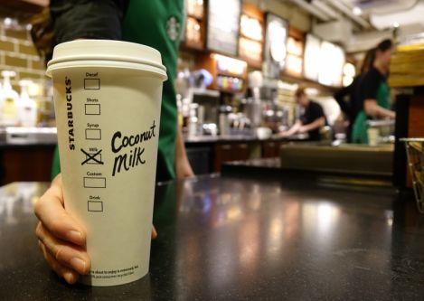 Starbucks introduces Single Origin Sumatra Coconut Milk beginning February 17 in U.S. stores
