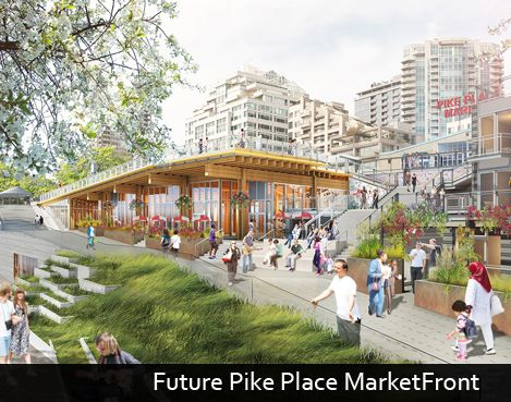 Starbucks the first major company to support Pike Place MarketFront Expansion Project