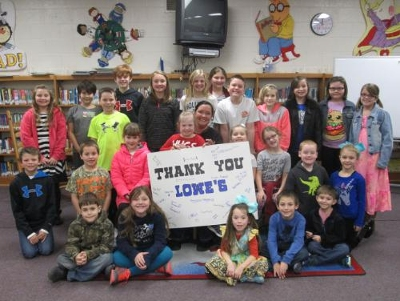 The Lowe's Charitable and Educational Foundation awarded $2.3 million in Lowe's Toolbox for Education® grants to schools nationwide
