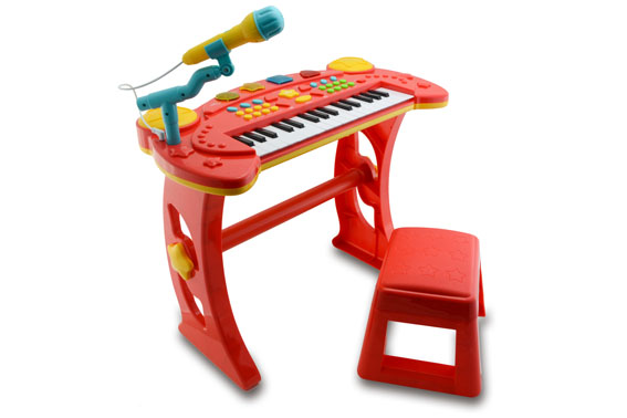 Chad Valley Sing Along Keyboard, Stand and Stool (349/8437) £24.99
