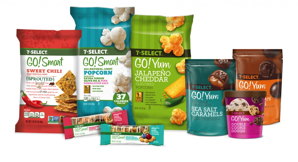 7‑Eleven® adds two premium lines 7-Select GO!Yum™ and 7-Select GO!Smart™ to its 7-Select™ brand