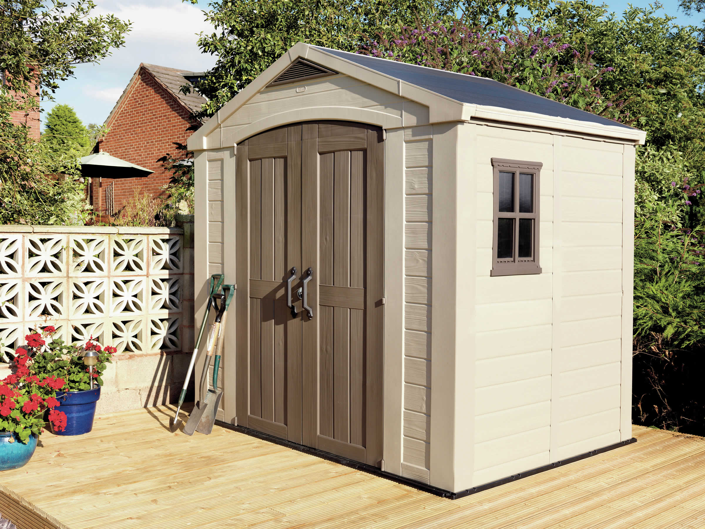 living today for outdoor sheds zoom product garden sale grand chalet shed storage