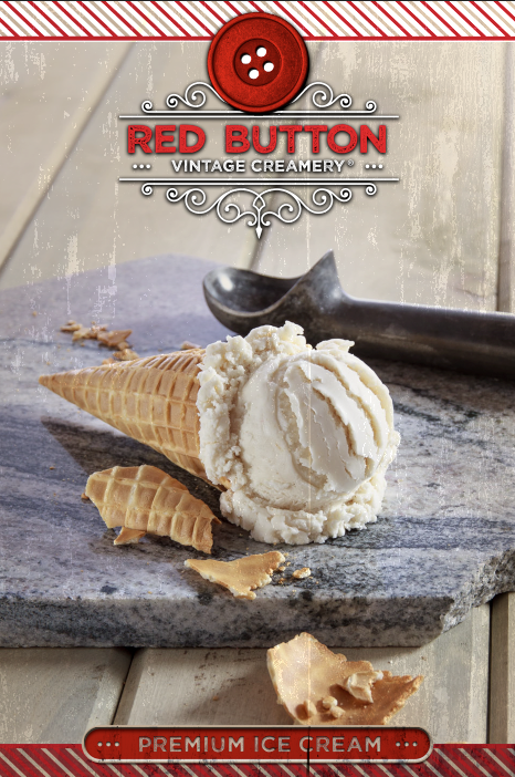 Associated Food Stores brings back the classic taste of childhood with the launch of Red Button Vintage Creamery Ice Cream