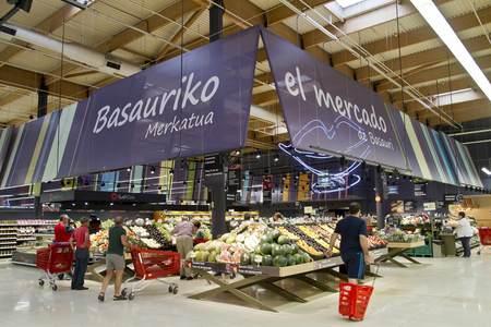 EROSKI invierte 1,7 millones de euros en la remodelación del hipermercado de Bilbondo
