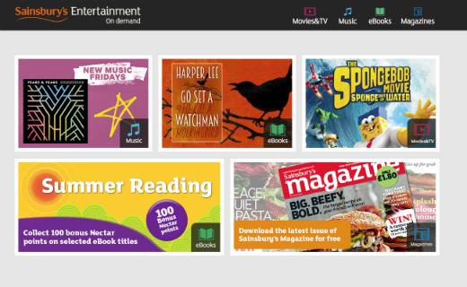 Sainsbury's Entertainment on Demand launches new digital magazine service