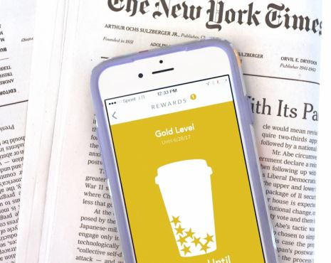 Starbucks Coffee Company expands relationship with The New York Times Company; announces an elevated digital news experience for the Starbucks® mobile app