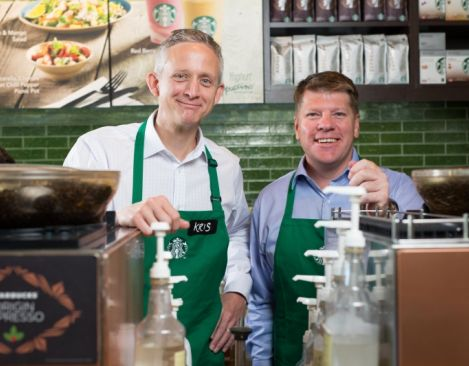 Starbucks partners with Taste Holdings for the opening of stores in South Africa, the first in sub‐Saharan Africa