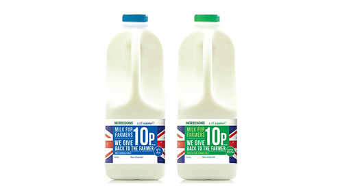 Morrisons to launch new milk brand where ten pence-per-litre goes directly to dairy farmers