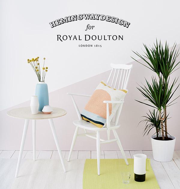 Myer introduces Hemingway Design for Royal Doulton
