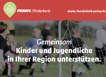 PENNY stiftet Förderpreis für Kinder- und Jugendarbeit