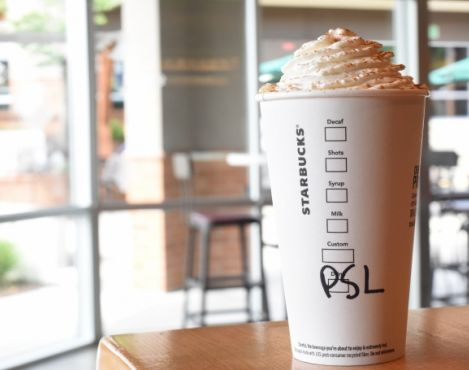 Pumpkin Spice Latte to return to Starbucks stores in the U.S. and Canada on September 8, 2015