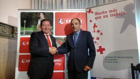 EROSKI y la de Cruz Roja en Zaragoza han firmado un convenio de colaboración