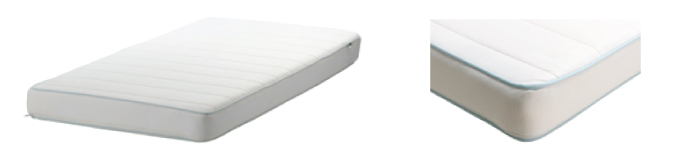 IKEA and U.S. Consumer Product Safety Commission recall VYSSA SPELEVINK crib mattress