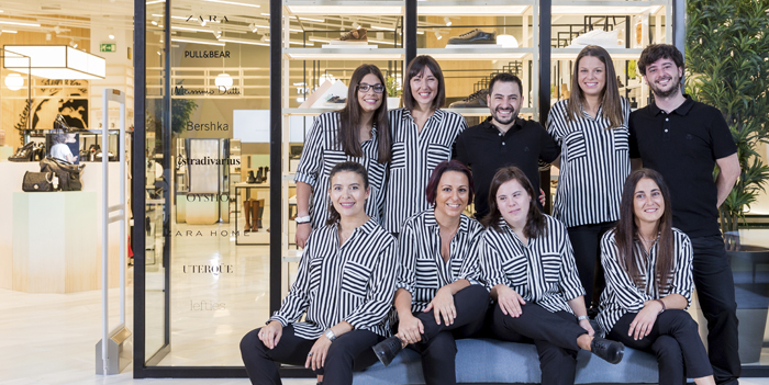 Inditex opens new store under the umbrella of its workforce integration programme 'for&from'