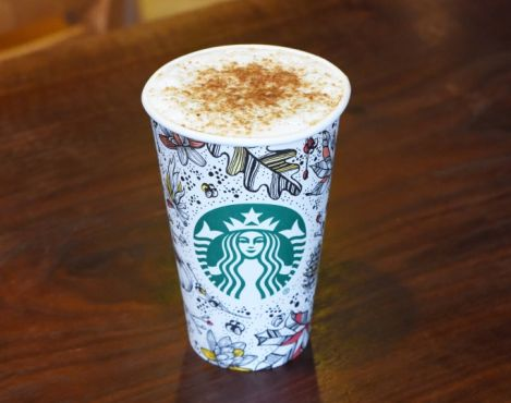 New autumn espresso beverage available in Starbucks® stores across US and Canada