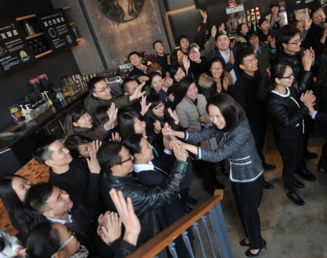 Starbucks China president Wong sent letter to the company's 30,000 employees in China ahead of China's President Xi's visit to US