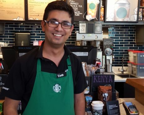 Starbucks hands-on training program places Starbucks assistant store managers on a fast track to oversee their own stores