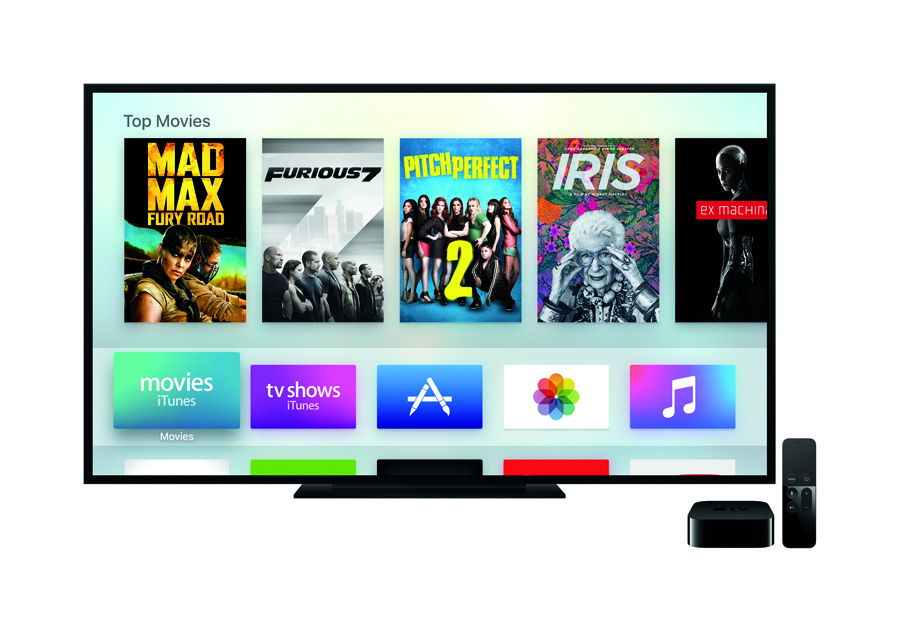 Apple brings revolutionary experience to the living room with the all-new Apple TV®