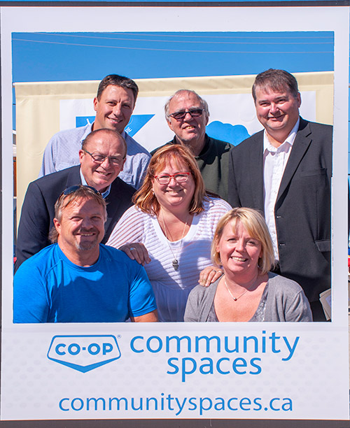 The Nipawin Business Improvement District has received a total of $115,000 from Co-op Community Spaces this year to support the development of a new town square.