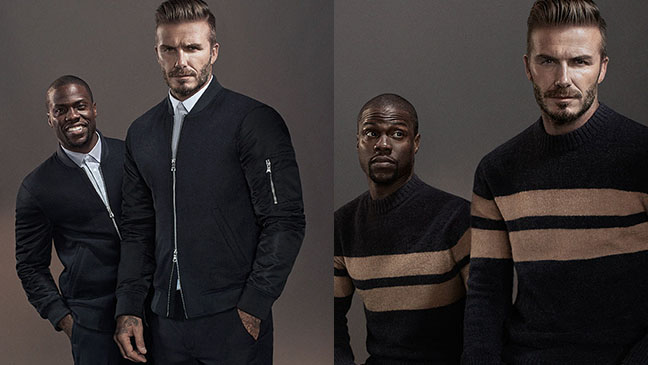 The new H&M campaign starring David Beckham and comedian Kevin Hart to debut on hm.com on 28 September