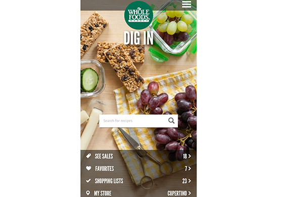 The new Whole Foods Market app now available to iOS users for download