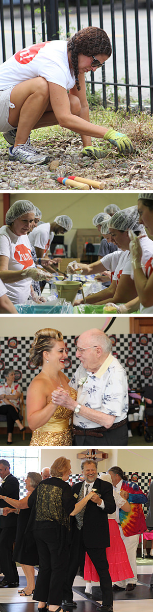 Yum! Brands Foundation partnered with The Acts of Random Kindness (ARK) Project to complete various acts of service in Louisville, KY