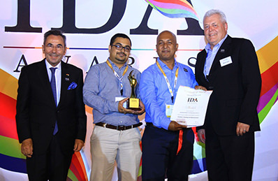 Yum! Restaurants India recognized at IDA Awards for its world class training tools