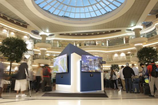 Best Buy 4K UHD Gallery at Hartsfield–Jackson Atlanta International Airport to feature 4K video of Atlanta's landmarks and cityscapes