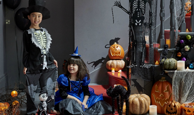 Children's Halloween costumes sold in Sainsbury's will be tested to the British nightwear flammability standard