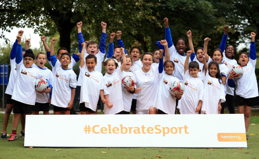 England's Women's World Cup star Lucy Bronze becomes the new face of Sainsbury's Active Kids campaign