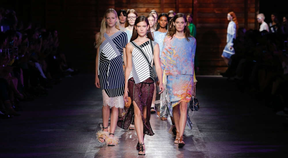 Fendi and Pucci celebrated women with an accent on seduction at Women's Fashion Week in Milan