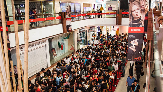H&M opens its first store in India