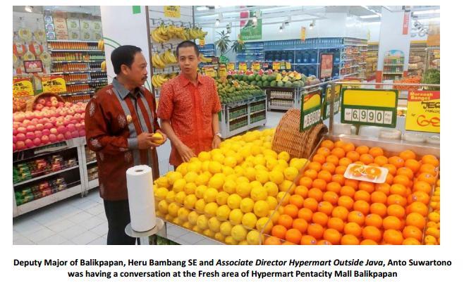 Indonesia: PT Matahari Putra Prima Tbk (MPPA) opened the 112th Hypermart outlet at Pentacity Mall Balikpapan
