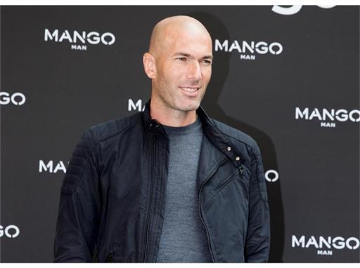 MANGO Man presents Zinédine Zidane as the face of the new Autumn/Winter 2015 campaign #zidaneformango during Paris Fashion Week