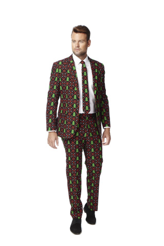 Macy's is embracing a new approach to holiday style with slim-fit suits from Dutch label, OppoSuits, available in stores and at macys.com, $99.99. (Photo: Business Wire)