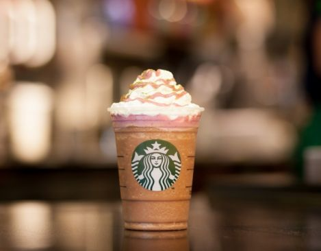 Marshawn Lynch teams up with Starbucks to introduce the Beast Mode™ Frappuccino® blended beverage